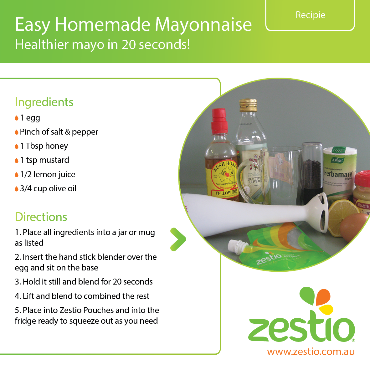 How to make easy mayonnaise for Easy homemade mayonnaise recipe