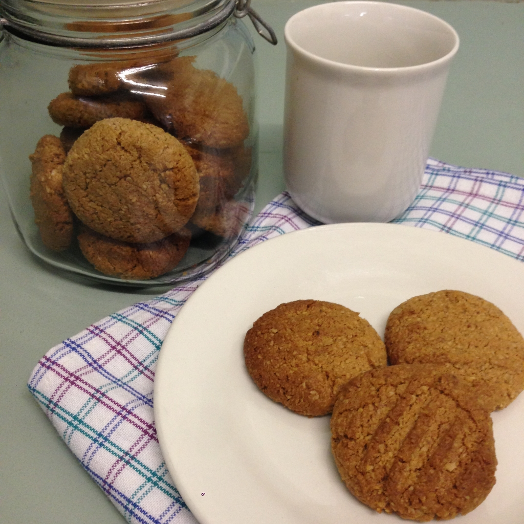 A healthy ANZAC Biscuit