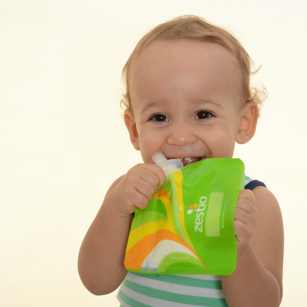 Baby Food Pouch Topper