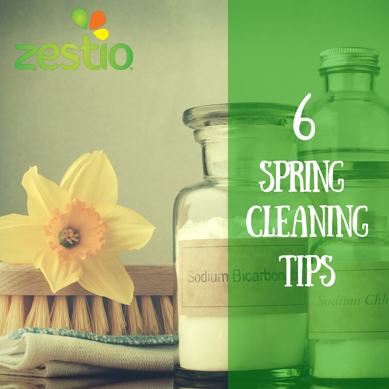 6 Spring Clenaing Tips from Zestio