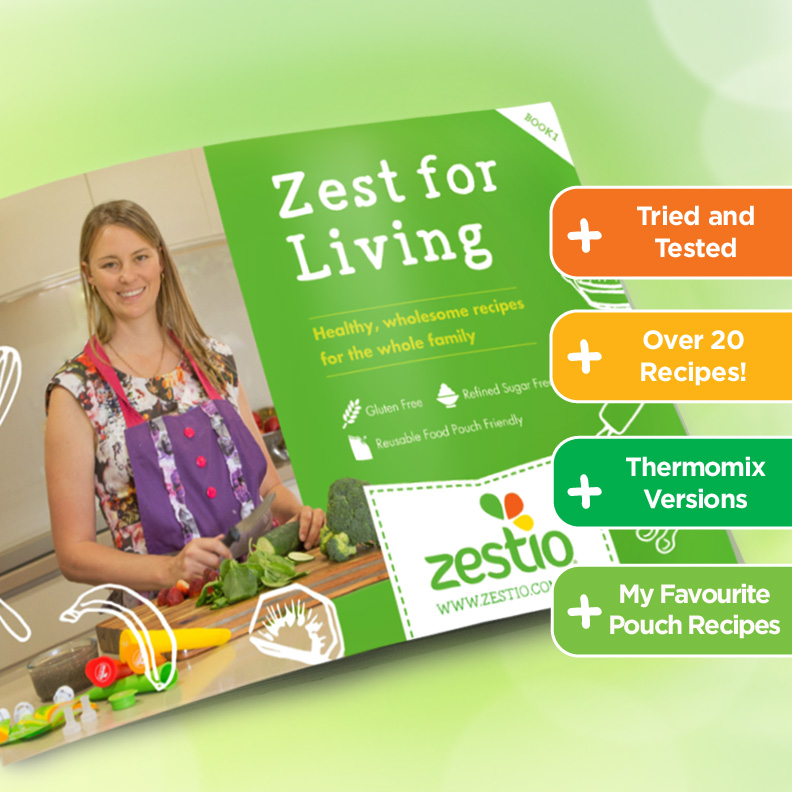 Zest for Living Recipe eBook