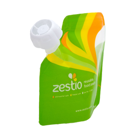 Zestio Reusable Food Pouch