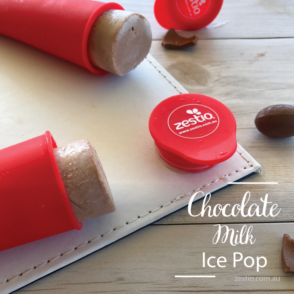 chocolate milk ice pop