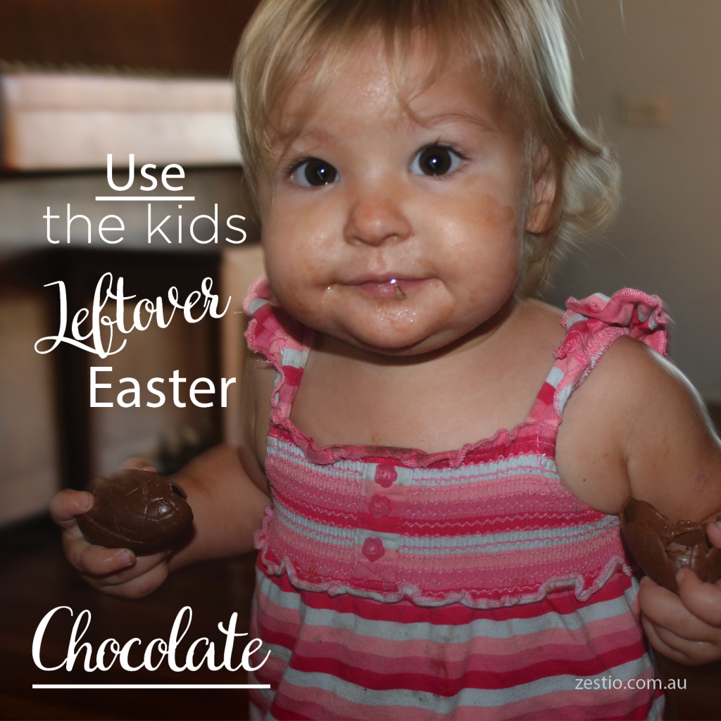 Leftover Easter chocolate
