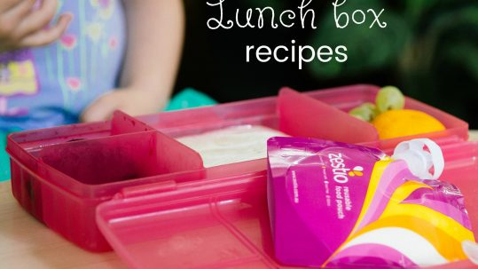 lunch box receipes for kids
