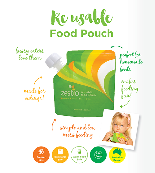 reusable food puches