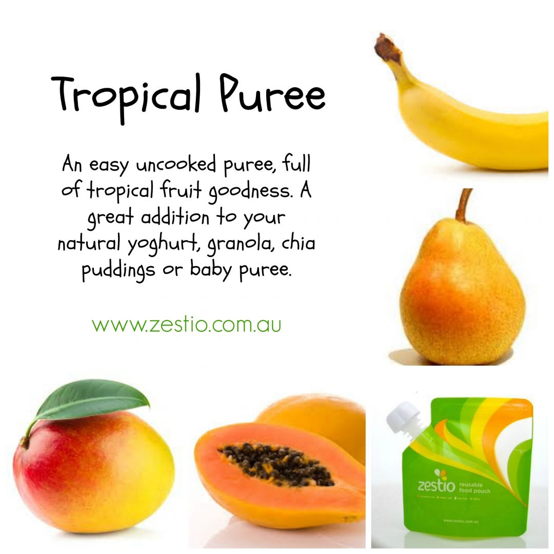 Tropical-puree
