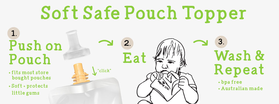 pouch topper attachment