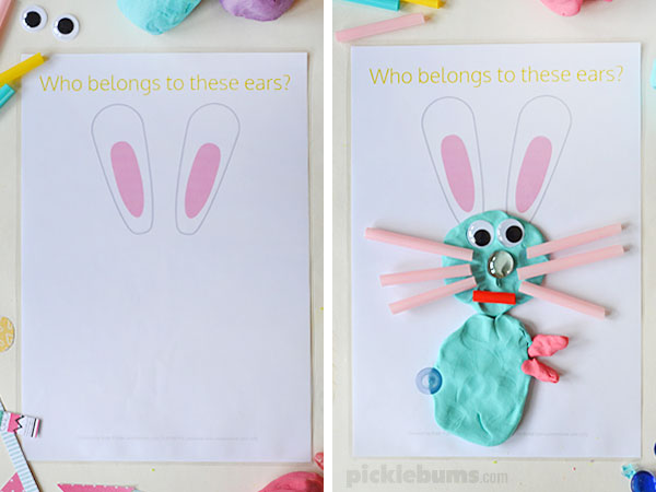 easter fun without the sugar high playdough mats