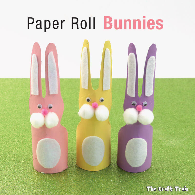 easter fun without the sugar high paper roll bunnies